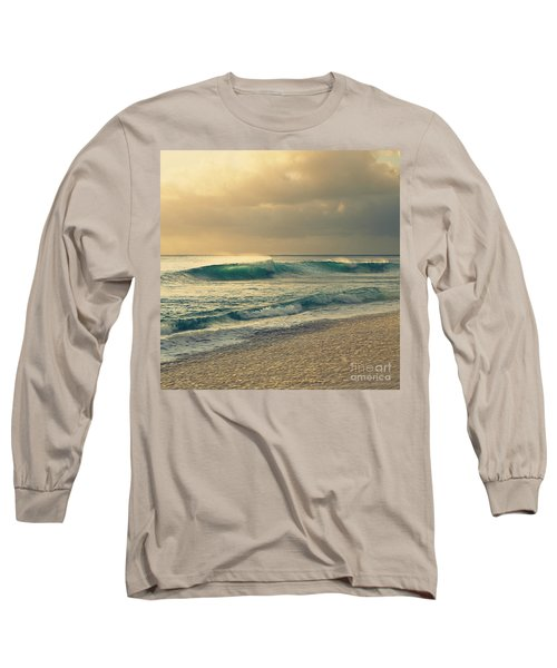 Waves Of Light - Hipster Photo Square Long Sleeve T-Shirt