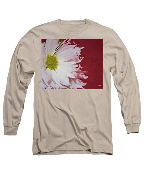 Waves Of White Long Sleeve T-Shirt