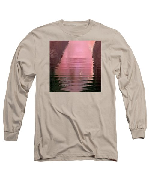 Long Sleeve T-Shirt featuring the photograph Waves That Are Me by Carolina Liechtenstein