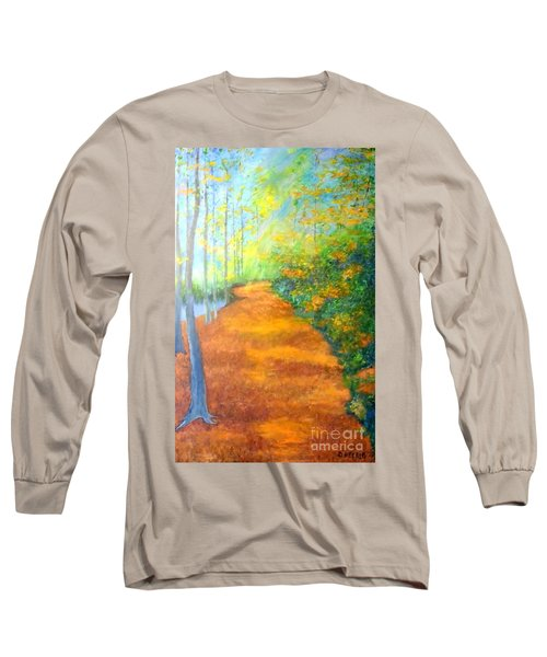 Way In The Forest Long Sleeve T-Shirt