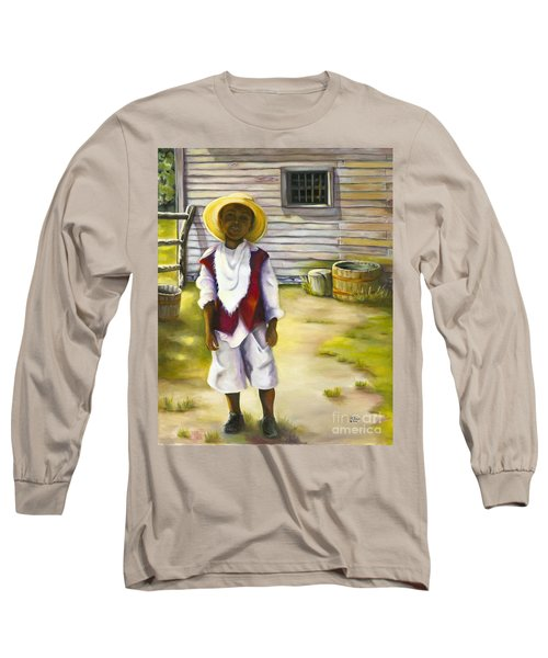 Long Sleeve T-Shirt featuring the painting Way Out Of No Way by Marlene Book