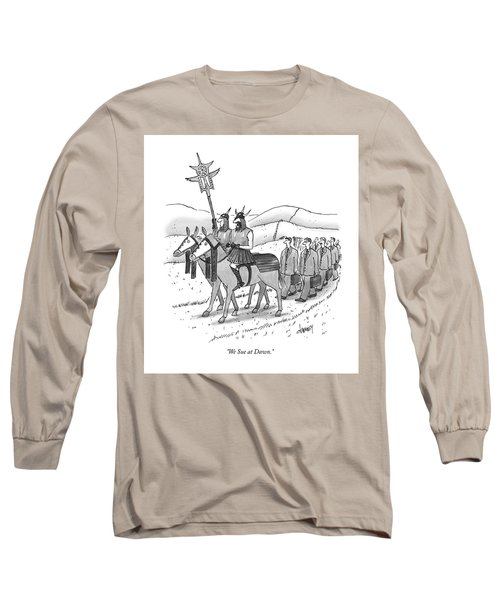 We Sue At Dawn Long Sleeve T-Shirt