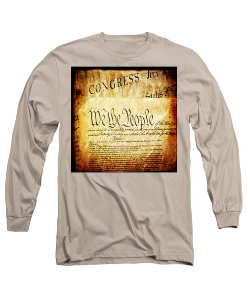 We The People Long Sleeve T-Shirt by Angelina Vick