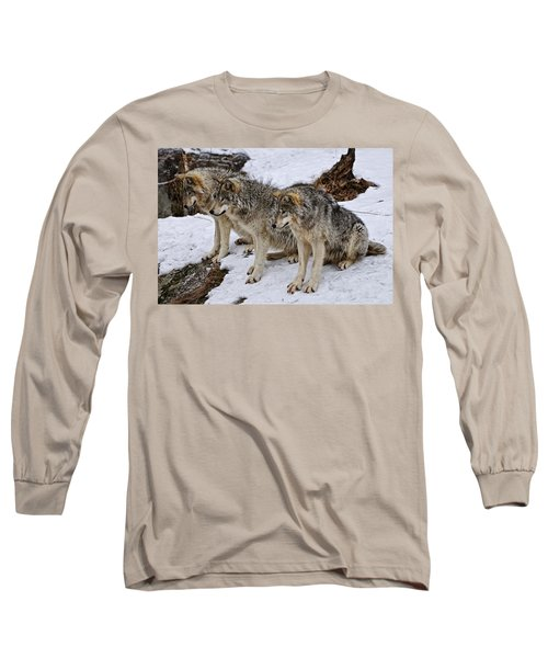 Long Sleeve T-Shirt featuring the photograph We Three Kings by Michael Cummings