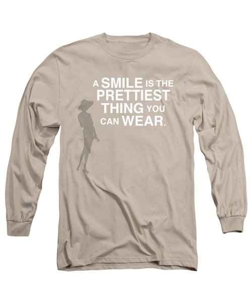 Wear A Smile Long Sleeve T-Shirt