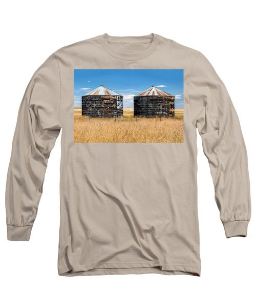 Weathered Old Bins Long Sleeve T-Shirt