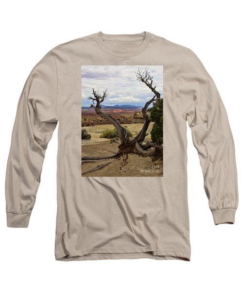 Weathered Long Sleeve T-Shirt by Steven Parker