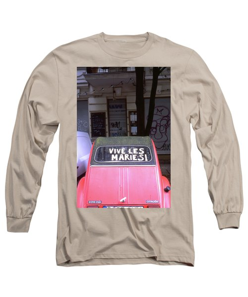 Wedding Car Long Sleeve T-Shirt
