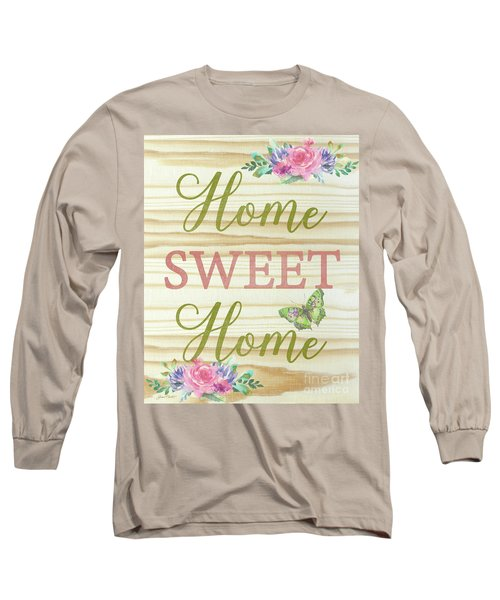 Long Sleeve T-Shirt featuring the digital art Welcome Home-d by Jean Plout