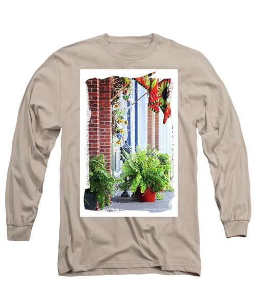 Welcome Long Sleeve T-Shirt by Lena Wilhite