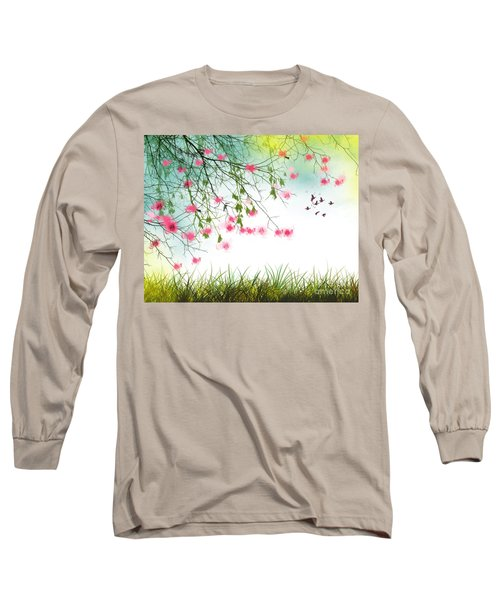 Welcome Spring 2016 Long Sleeve T-Shirt by Trilby Cole