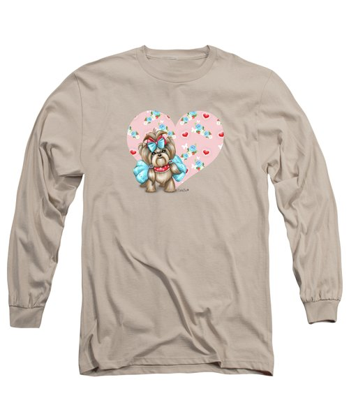 Welcome Spring Long Sleeve T-Shirt by Catia Cho