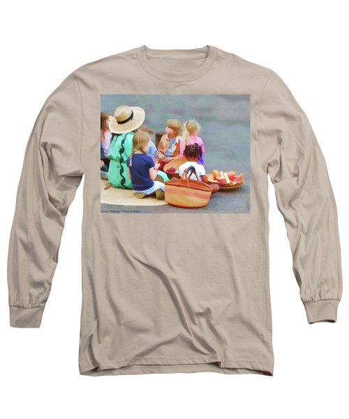 Welcome The Children Long Sleeve T-Shirt