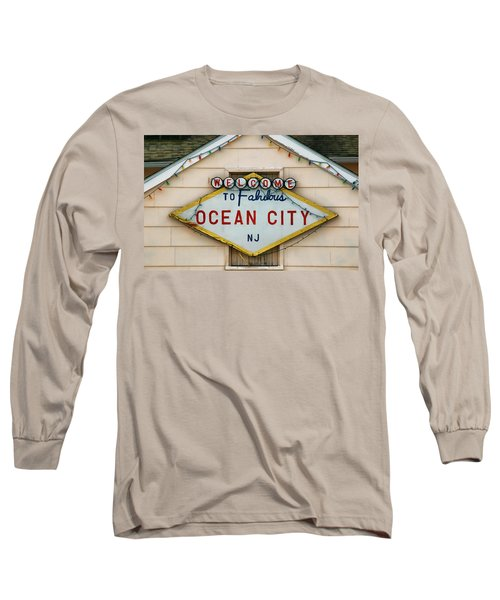 Welcome To Fabulous Ocean City N J Long Sleeve T-Shirt