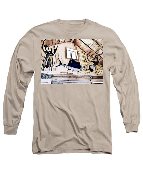 Welcome To The Cabin Long Sleeve T-Shirt