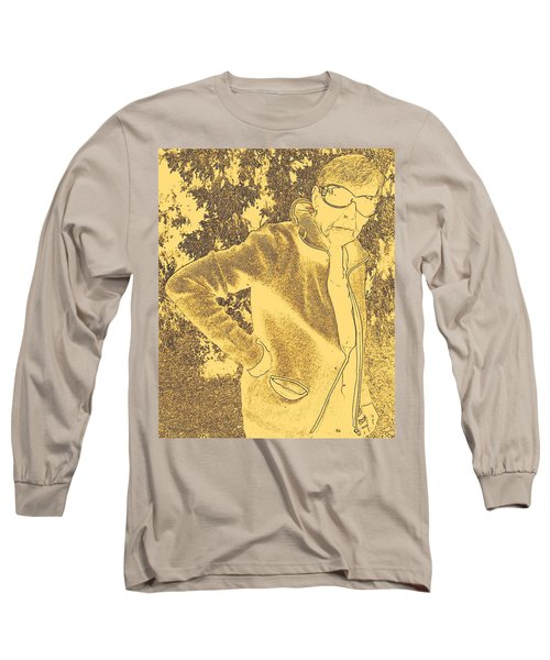 Well Are You Coming 3 Long Sleeve T-Shirt by Lenore Senior
