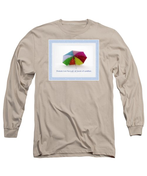 Well-weathered Friends Long Sleeve T-Shirt