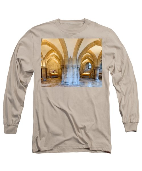 Wells Cathedral Undercroft Long Sleeve T-Shirt by Colin Rayner
