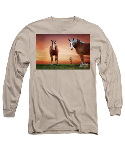 We're Listening Long Sleeve T-Shirt by Tamyra Ayles