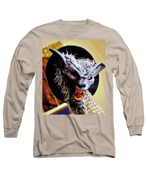 Werewolf Attack Long Sleeve T-Shirt by Craig Wood