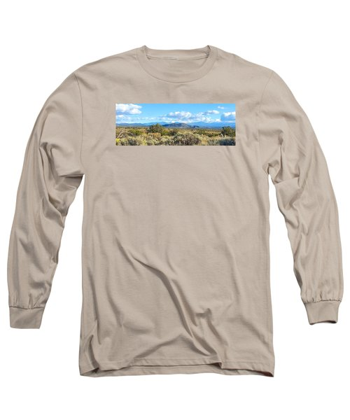 Long Sleeve T-Shirt featuring the photograph West Of Taos by Brenda Pressnall