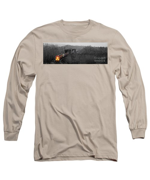 Westbound Grain Long Sleeve T-Shirt by Brad Allen Fine Art
