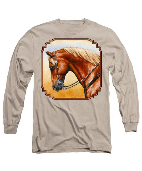 Western Pleasure Horse Phone Case Long Sleeve T-Shirt