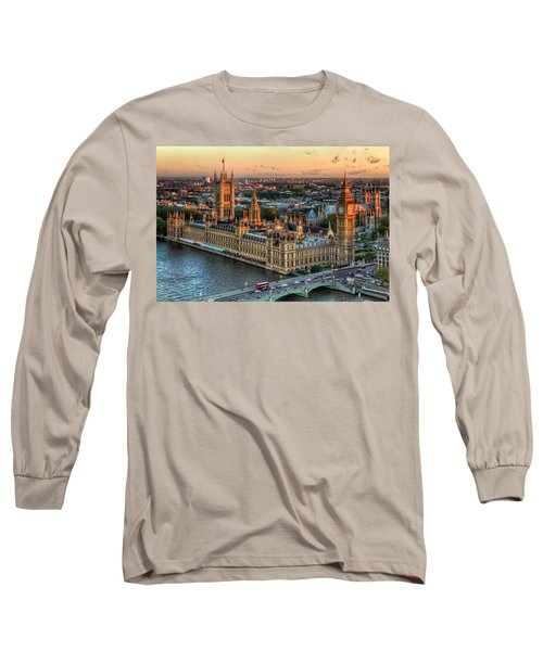 Westminster Palace Long Sleeve T-Shirt by Tim Stanley