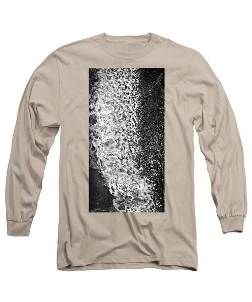 What Are Waves, Black And White Long Sleeve T-Shirt
