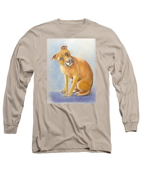 What Did You Say Long Sleeve T-Shirt by Ruth Seal