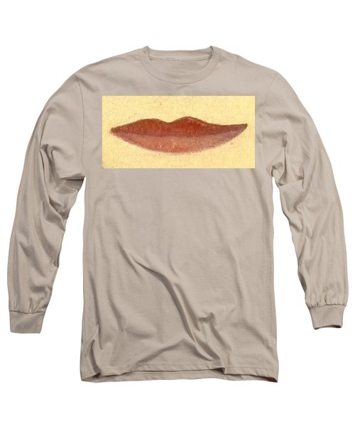 Long Sleeve T-Shirt featuring the painting What Is Beauty by Bill OConnor