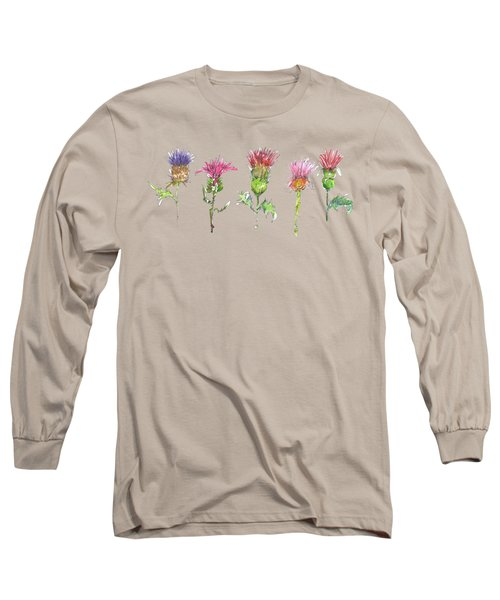 What Is It About A Thistle Fl006 Long Sleeve T-Shirt
