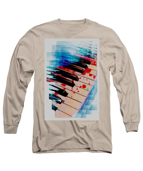 Long Sleeve T-Shirt featuring the mixed media What It Takes To Be Great by Aaron Berg