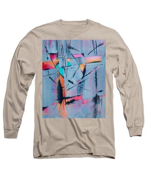 What Lies Beneath Long Sleeve T-Shirt by Nancy Jolley
