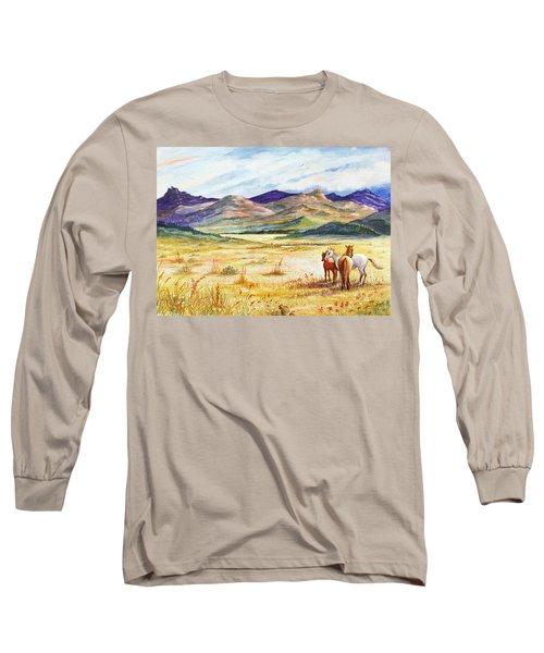 What Lies Beyond Long Sleeve T-Shirt