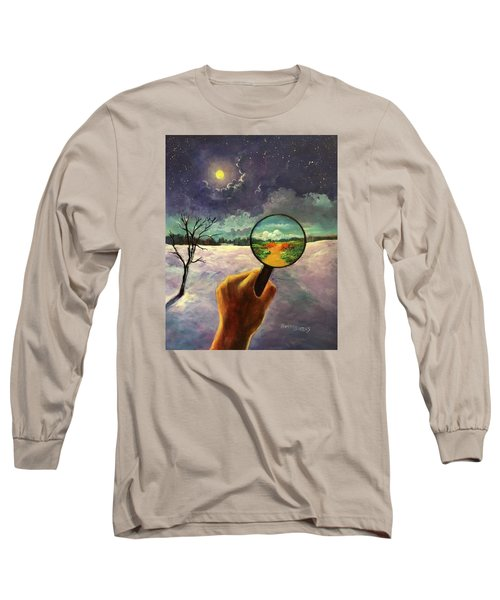 What We Choose To See Long Sleeve T-Shirt by Randy Burns