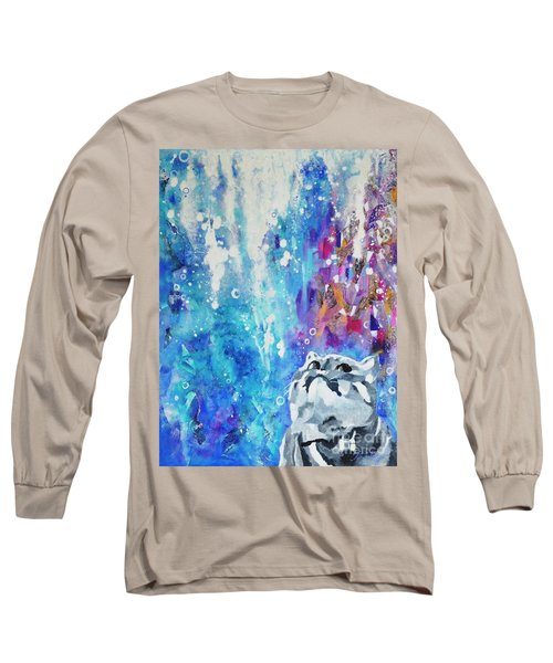What's Up? Long Sleeve T-Shirt by Betty M M Wong