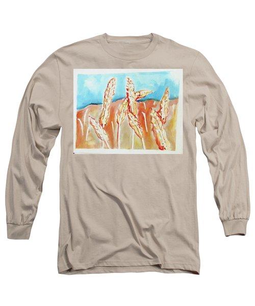 Wheat Field Long Sleeve T-Shirt