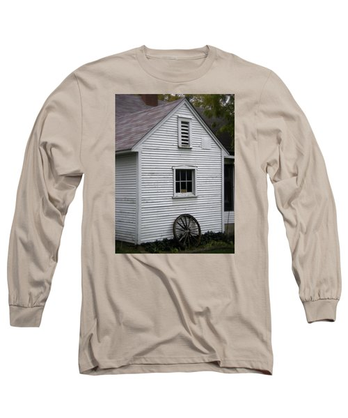 Wheel Long Sleeve T-Shirt by Frank J Casella