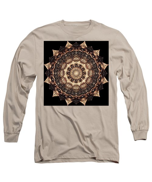 Wheel Of Life Mandala Long Sleeve T-Shirt