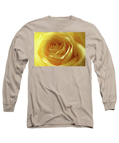 When I Think Of You Long Sleeve T-Shirt by Mike Eingle