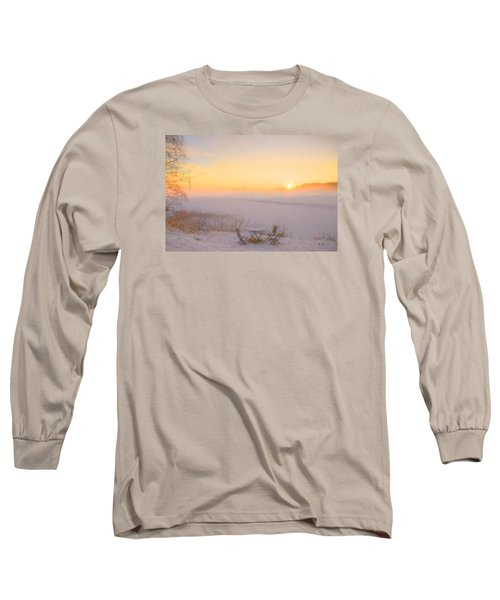 Long Sleeve T-Shirt featuring the painting When Joy Fills The Heart by Rose-Maries Pictures
