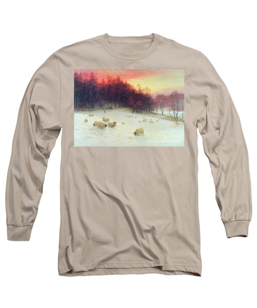 When The West With Evening Glows Long Sleeve T-Shirt