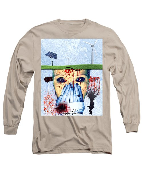 When They Take The Mind Long Sleeve T-Shirt by Vennie Kocsis