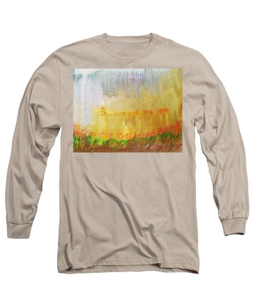 Where The Tall Grass Grows Long Sleeve T-Shirt
