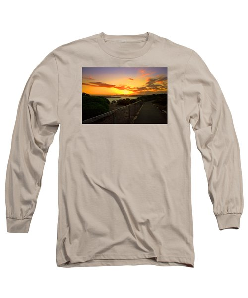 Long Sleeve T-Shirt featuring the photograph While You Walk by Miroslava Jurcik