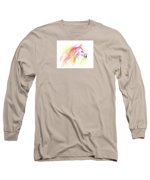 Whisper Long Sleeve T-Shirt by Elizabeth Lock