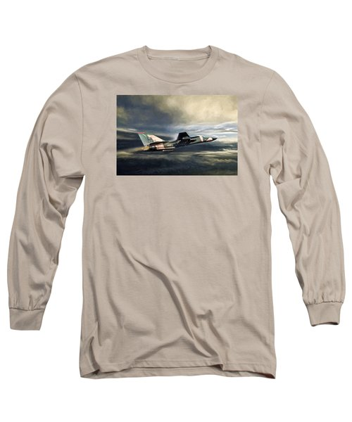 Whispering Death F-111 Long Sleeve T-Shirt by Peter Chilelli