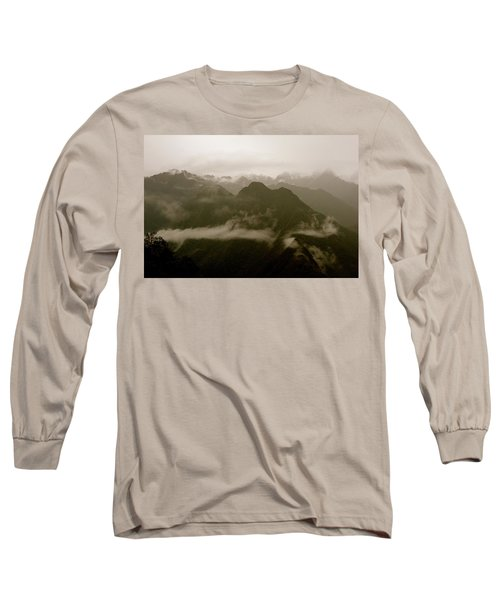 Whispers In The Andes Mountains Long Sleeve T-Shirt