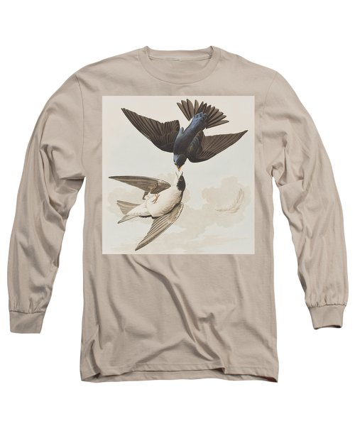 White-bellied Swallow Long Sleeve T-Shirt